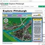 Pittsburgh Post Gazette Bing Map