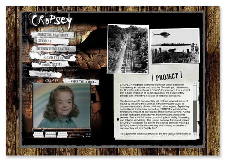 Cropsey the Documentary Movie – Flash Website
