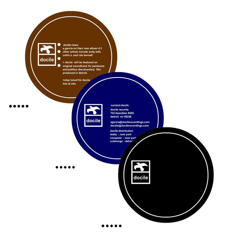 Docile Records Flash Website