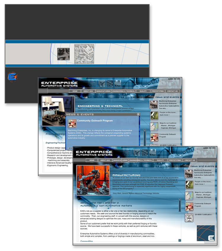 Enterprise Automotive Systems Flash Website