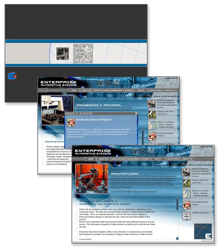 Enterprise Automotive Systems Flash Website
