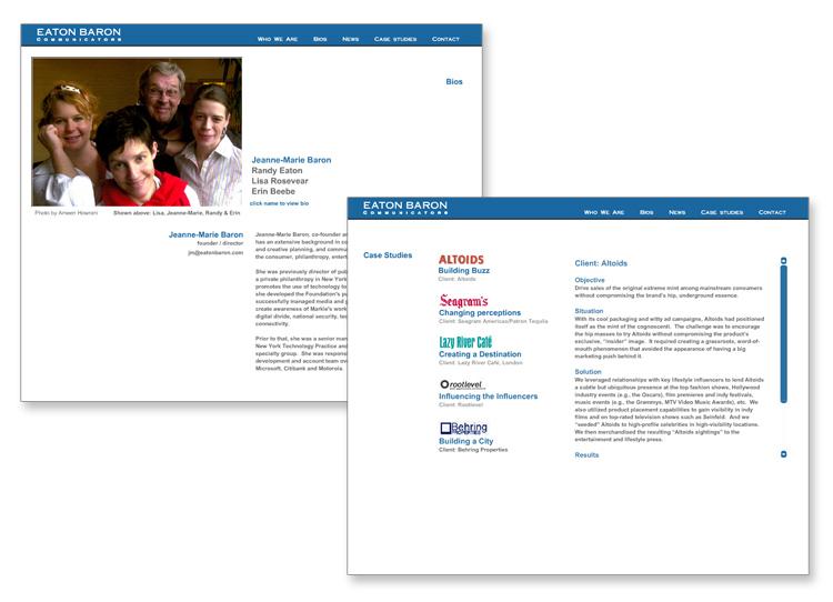 Eaton Baron Consulting Website