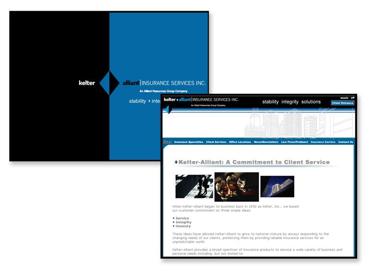Kelter Alliant Insurance Provider – Flash Website