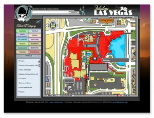 Las Vegas Interactive Flap Mapping System