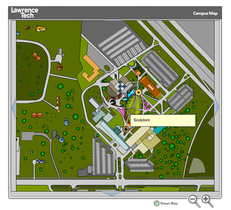 Lawrence Technical University Interactive Flash Mapping System