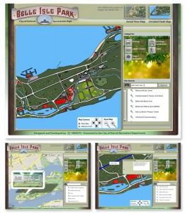 Belle Isle Google Maps API, Flash Map