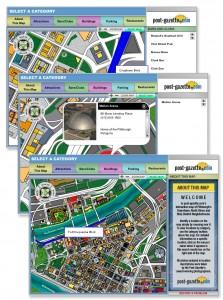 Pittsburgh Post Gazette Interactive Flash Map
