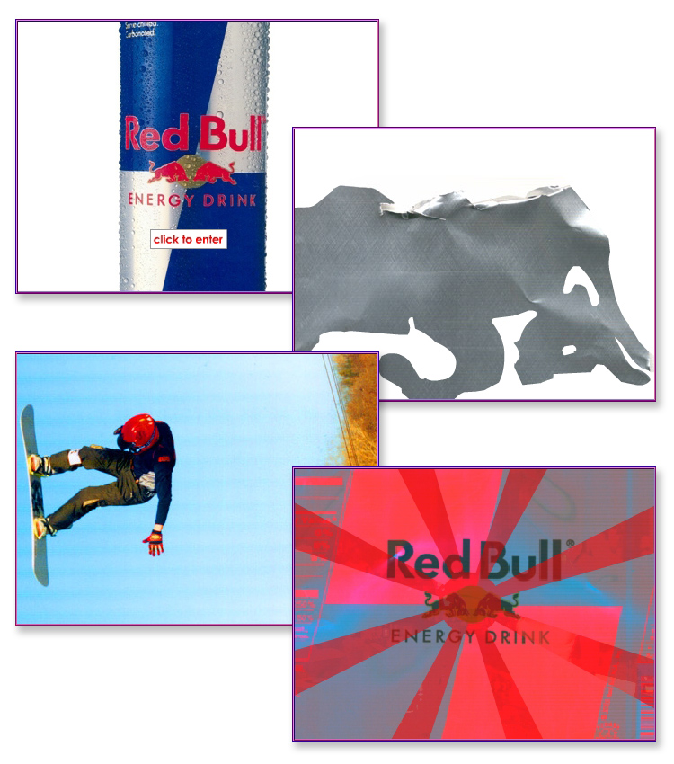 Redbull Interactive Flash Promotional Animation
