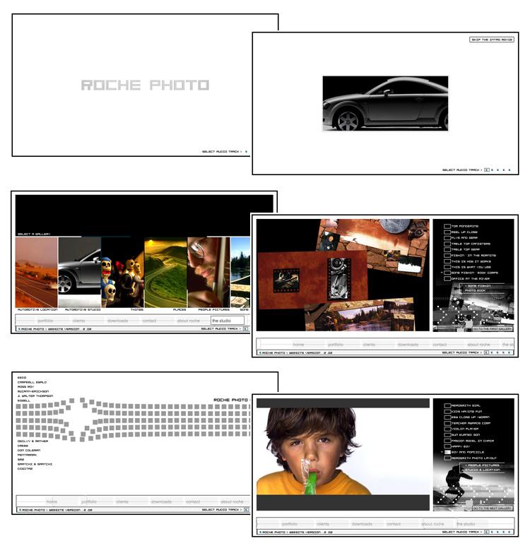Roche Photo – Flash Photography Website
