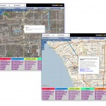 LA Taxi Routes and Traffic
