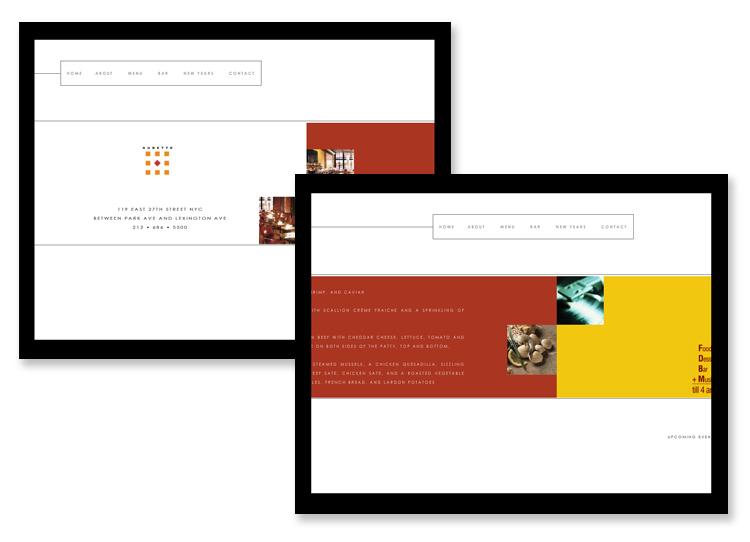 Aubette, Restaurant NYC – Interactive Flash Website