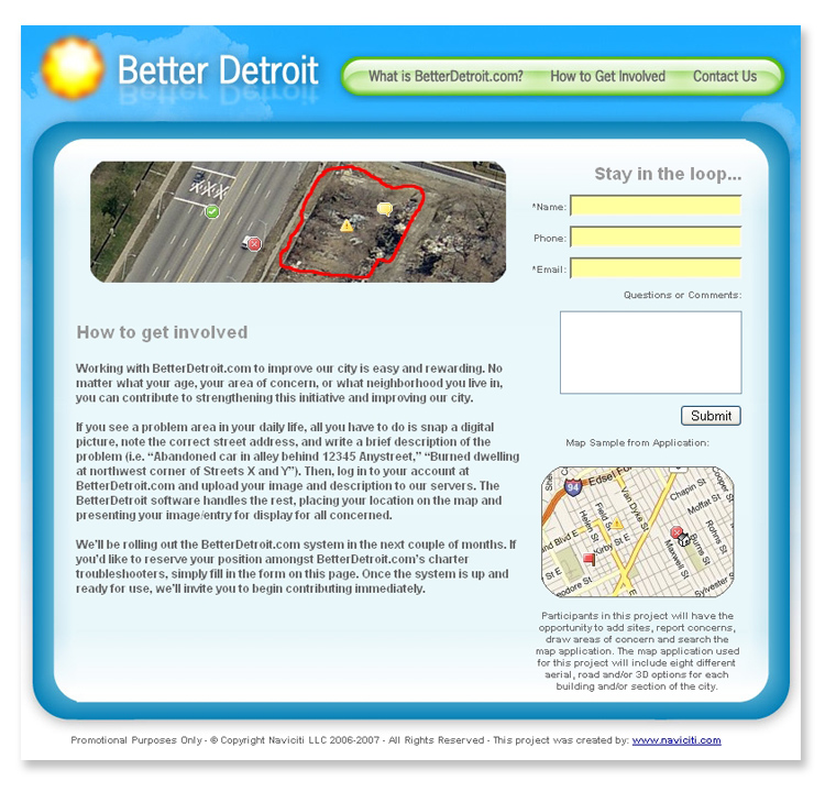 Better Detroit Website