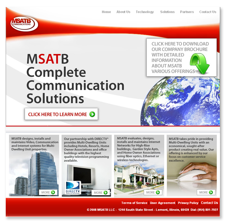 MSATB Communications Company – Website