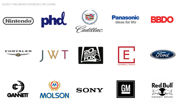 Brands I've worked with...