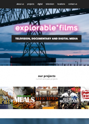Explorable Films Website